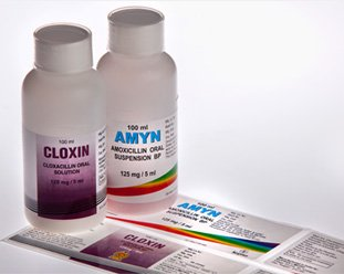 labels for pharmaceutical industry