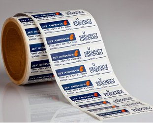 Airline Sticker Labels
